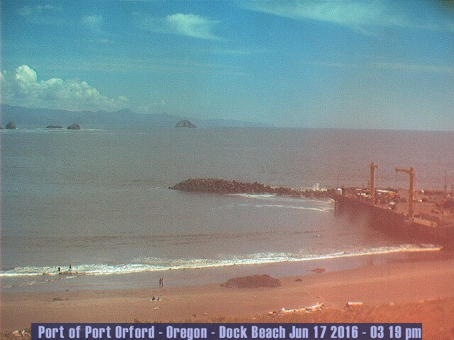 Port Orford Dock Beach